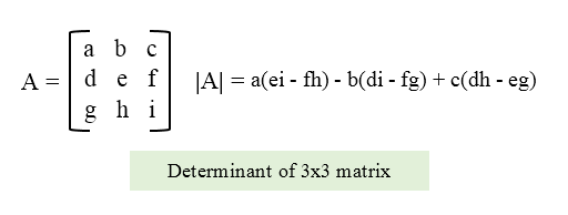 C program to find determinant of a matrix - Codeforwin