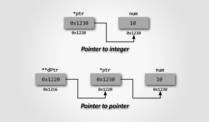 Pointer programming exercises and solutions in C - Codeforwin