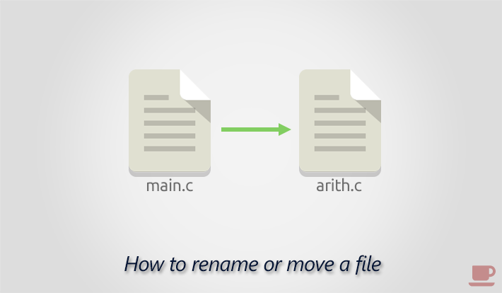Rename a file using rename() function in C programming